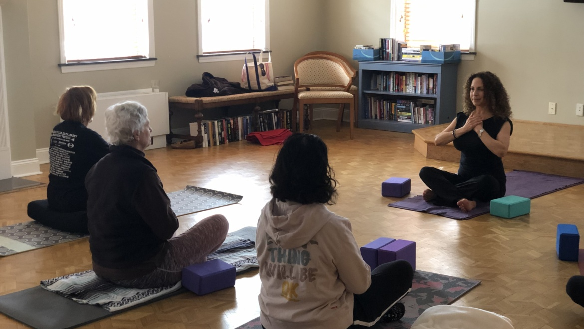 A Warriors at Ease Teacher Who Supports Cancer Patients Through Yoga
